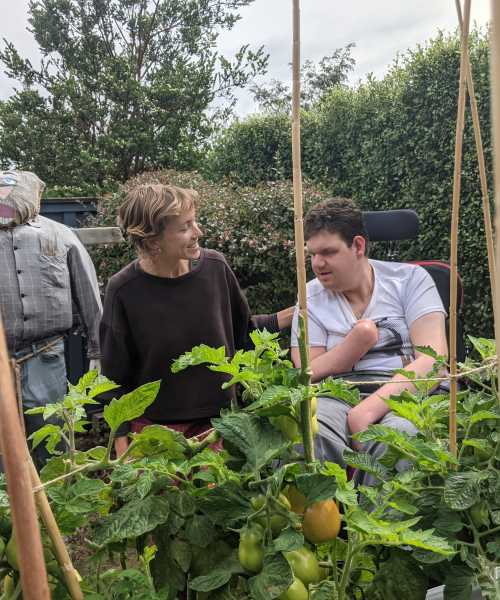 Beth shares her love of gardening
