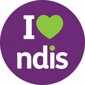 I Heart Ndis Website Button