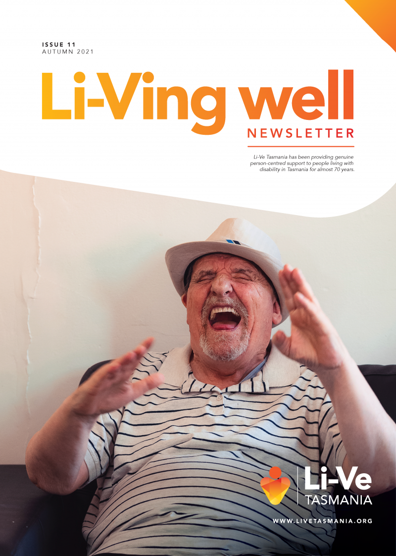 Live Tasmania March Newsletter COVER