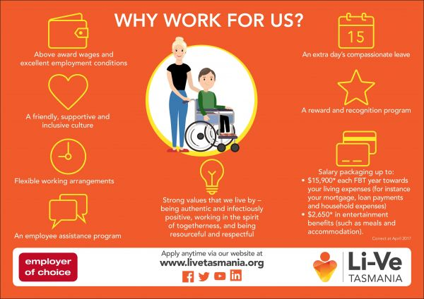Why Work For Li Ve Infographic Pic